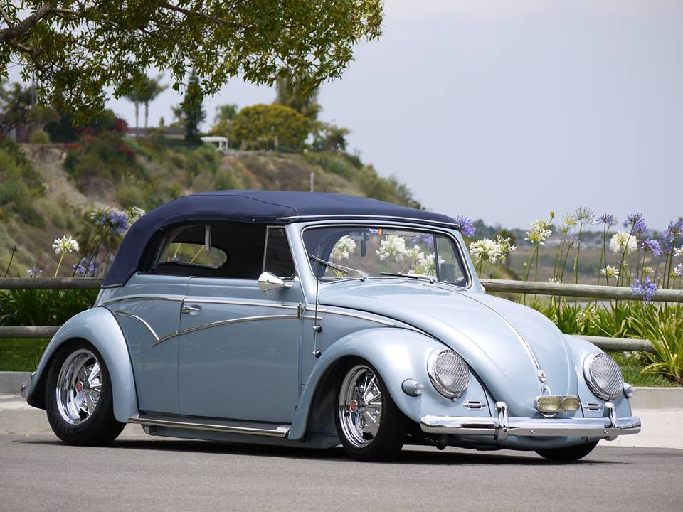 1957 Oval VW Beetle