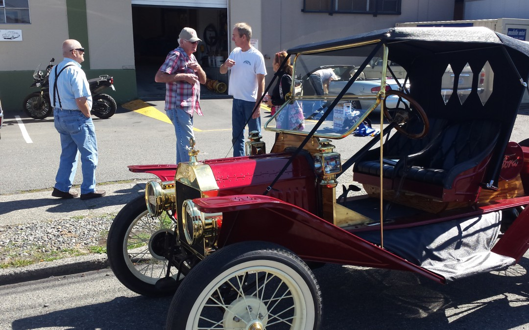 1913 Ford Model T custom hand made top