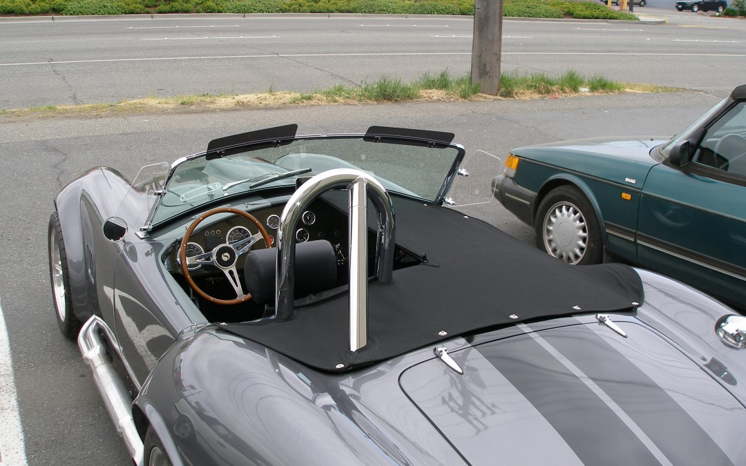 Cobra Mark III kit car hand made tonneau cover