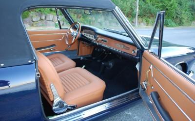 Hand made interior-1964 Lancia Flavia