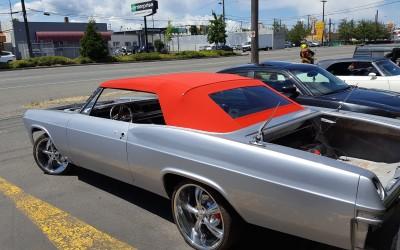 1965 Impala- Hand made top and custom headliner