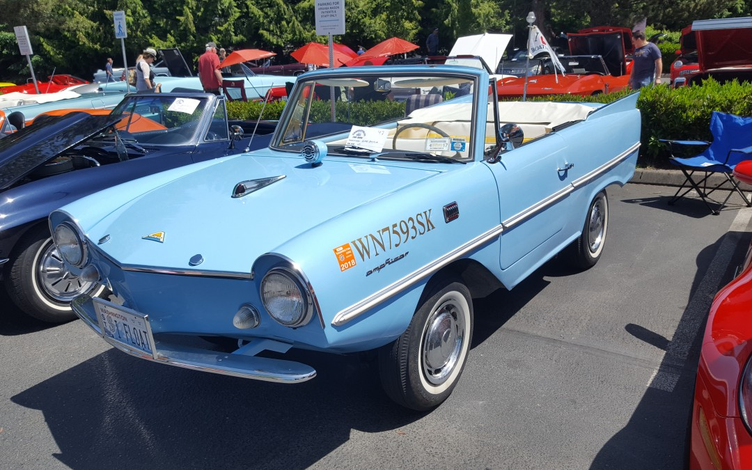 MOST UNIQUE- Gerry Bucklin- 1967 Amphicar