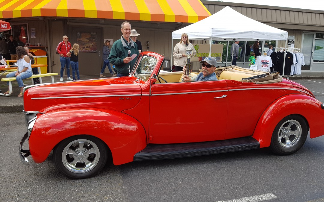 BEST 40'S- Mike Christiansen- 1940 Ford Convertible