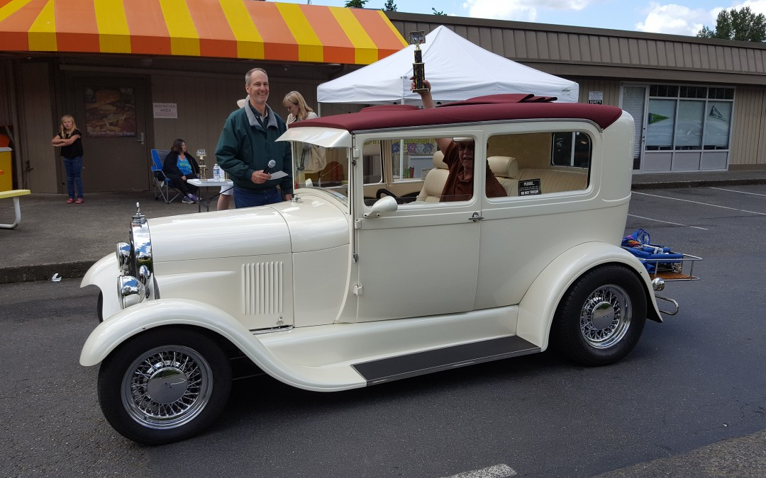 BEST CUSTOM- Gary Holmes- 1929 Ford Model A