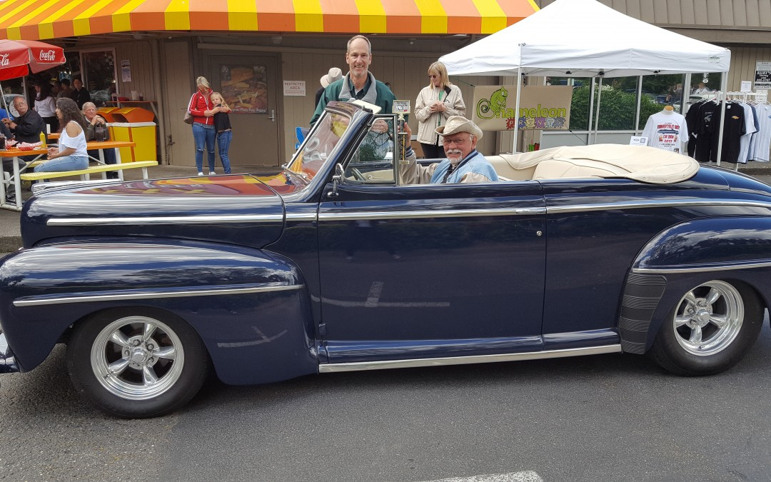 BEST CUSTOM INTERIOR- Coit Everson- 1948 Ford Convertible