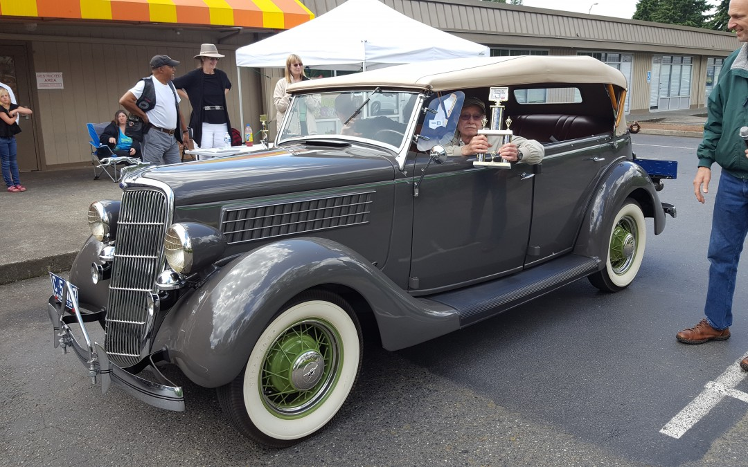 BEST IN SHOW- Bob Porter- 1935 Ford Phaeton