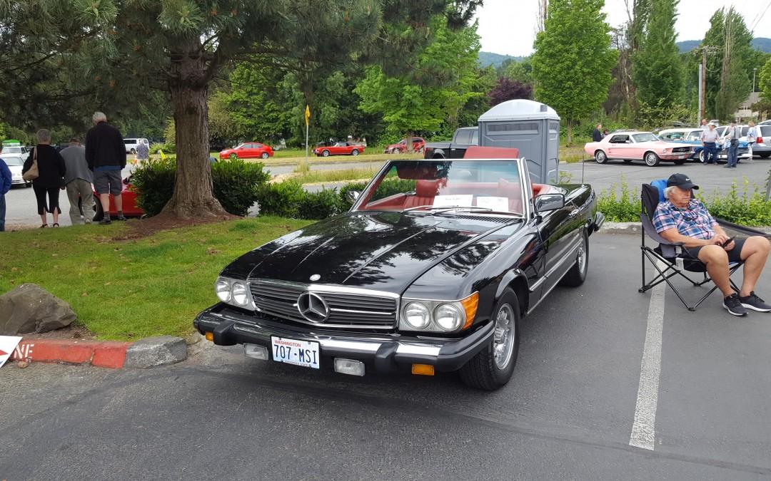 BEST 70's- Len Shaw's 1977 Mercedes 450SL
