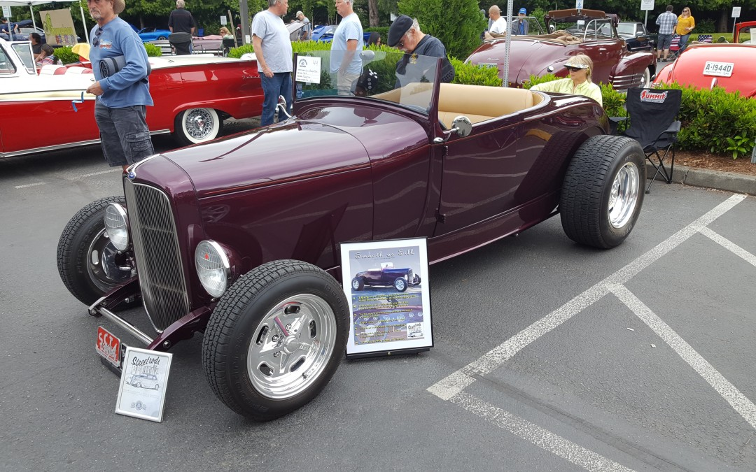 BEST CUSTOM- George & Lori Tyler's 1929 Ford Roadster