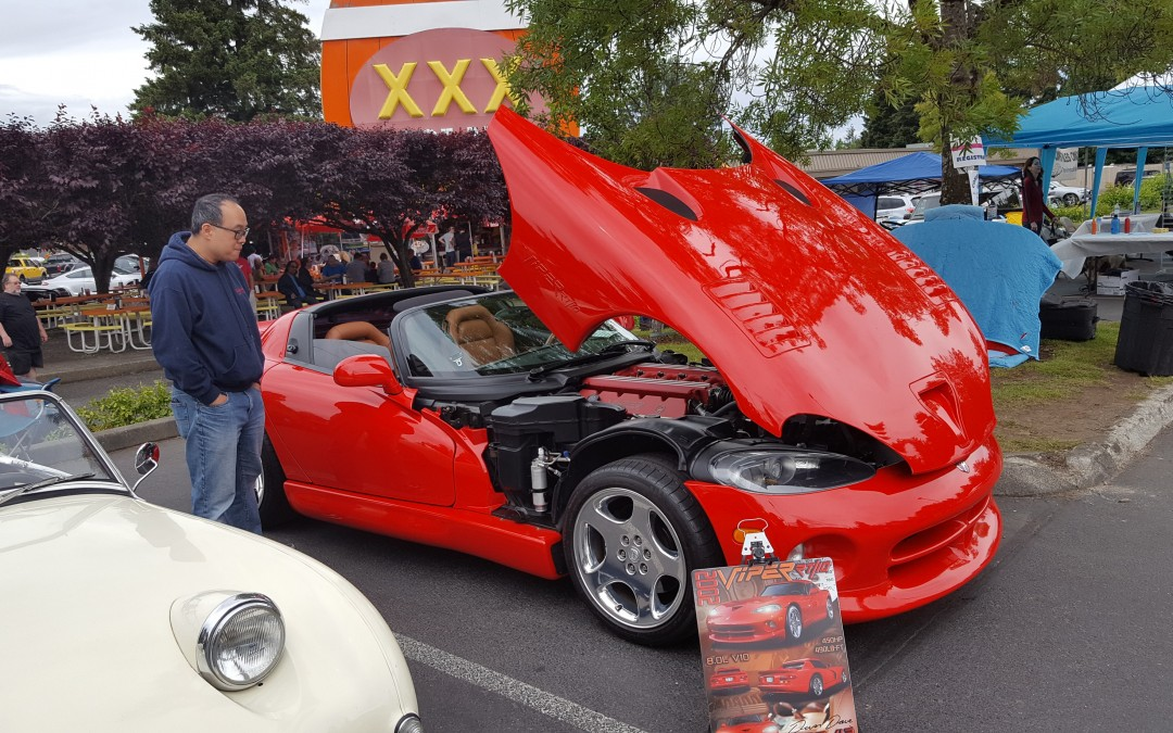 MOST LIKELY TO GET A TICKET- Dave Schneider's 2002 Dodge Viper RT10